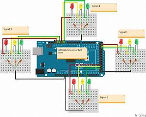 How To Build A Arduino Traffic Light Controller