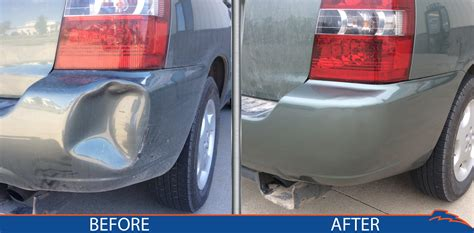wrecked car before and after gallery bumpertek
