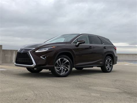 Outstanding Crossover 2019 Lexus Rx 450h L Awd Test Drive