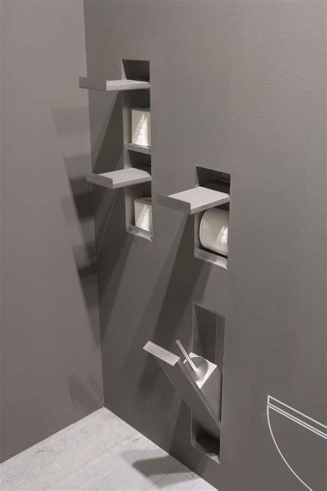 Einbautoilettenpapierhalter  Aus Edelstahl Sesamo By
