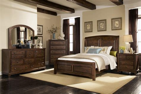 Coaster Furniture 4 Pc Laughton Panel Distress Bedroom Set