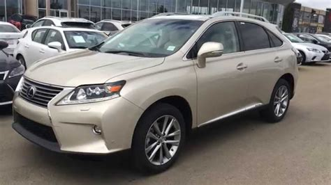 lexus rx  hybrid awd review youtube