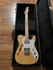 Fender  U0026 39 72 Thinline Telecaster U0026 39  2016 Natural Maple
