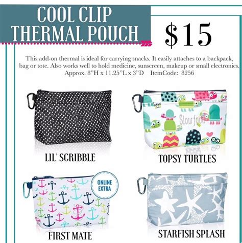 Cool Clip Thirty One Gifts Cool Clip Thermal Pouch 2017