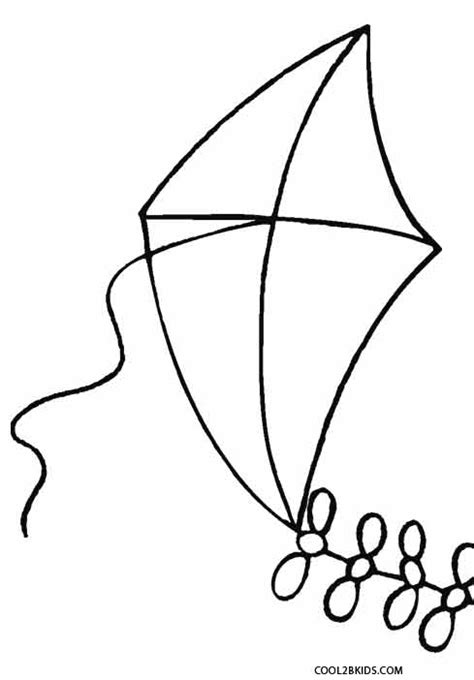 printable kite coloring pages  kids coolbkids