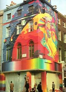 James Rizzi Apple Boutique Mural Designed By The Fool Art Collective
