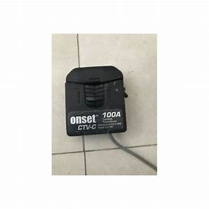 Ctv-c Hobo Current Sensor Transducer 0-100amp