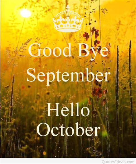 It's Halloween Time, Welcome October Quotes Pics 2015