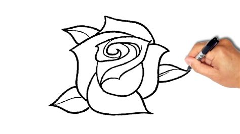 How To Draw A Rose [simple]