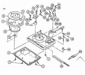 Chassis Diagram  U0026 Parts List For Model Pslx435 Sony