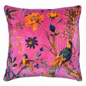 16quotx16quot pink decorative accent cheap velvet pillow cover With best pillows for cheap