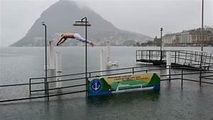 Wasser Im Keller Bei Starkem Regen : pegel beim lago maggiore steigt trotzdem springt ein verr ckter ins wasser schweiz az ~ Yasmunasinghe.com Haus und Dekorationen