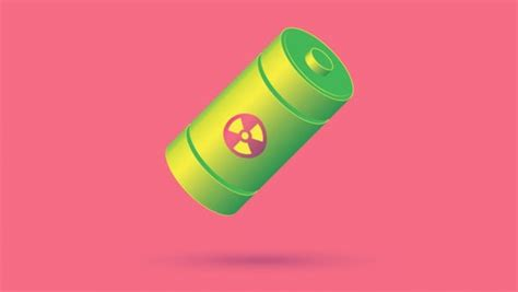 Показана карманная атомная батарейка 63NiC . Электроника в дорогу