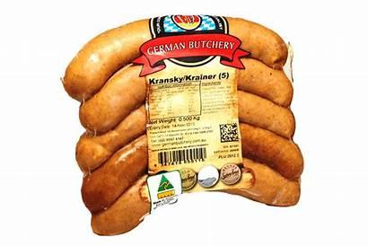Kransky Sausages German Plain Butchery Continental
