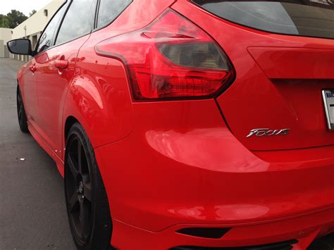 2015 focus st tail light tint focus st hatchback smoked tail light insert 2013 2014