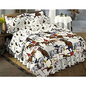 amazon com jumper horse twin comforter set sheets