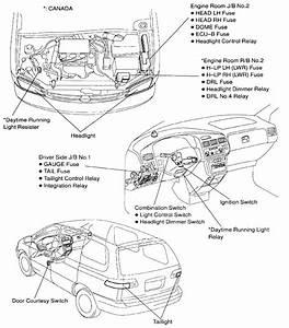 2000 Toyota Sienna Wiring Diagram
