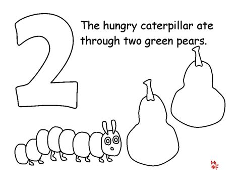 hungry caterpillar coloring pages get this the hungry caterpillar coloring pages free