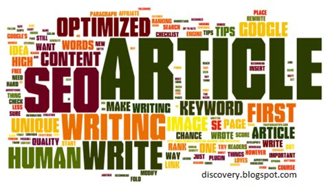 Seo Articles - inside discovery article writing tips and tricks 2014
