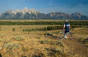 Cycle your way around Yellowstone and Grand Teton parks ...