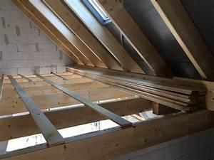 Dachboden Fußboden Verlegen : fu boden auf dem dachboden bautagebuch ~ Markanthonyermac.com Haus und Dekorationen