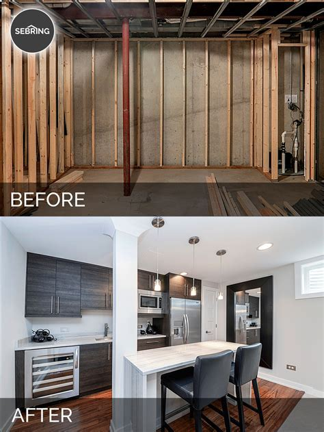 Doug & Natalie's Basement Before & After Pictures   Home