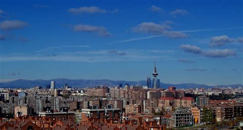 madrid spain skyline bohemestudiocom
