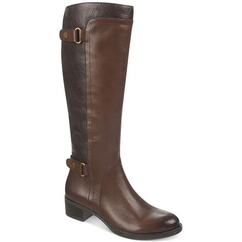 franco sarto crash tall riding boots brown lyst