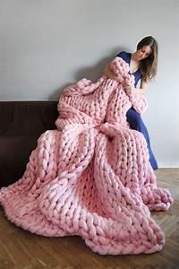 Tricoter Un Plaid En Grosse Laine : plaid laine grosse maille i love tricot ~ Melissatoandfro.com Idées de Décoration