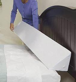 mattress wedge queen half a home 123 a bit of With bed wedge under mattress