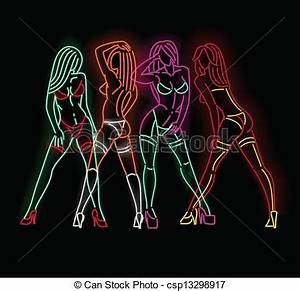 Image Gallery neon graphic art