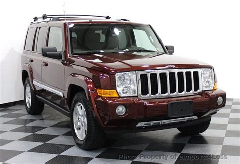 used jeep commander 2008 used jeep commander certified commander 4wd v8 hemi