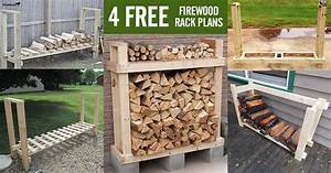 4 FREE Firewood Rack Plans Built from 2x4s (Two Under $30)