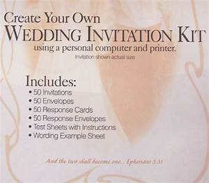 Listed in amazon marketplace create your own wedding for Wedding invitation kits 50 count