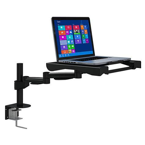 laptop desk mount arm desk mounted laptop adjustable arm tray afcindustries com