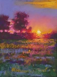 Vibrant Pastel Landscape, Kath Dunne in 2019 | Chalk ...