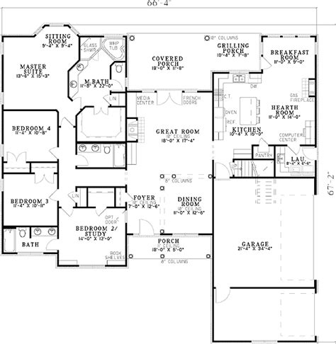 Floor Plans With Hearth Room by Plan 59805nd Alternate Exterior Available Floor Plans