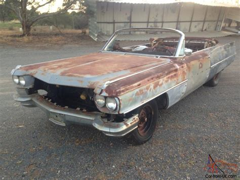 Rod Cars For Sale Ebay by 1964 Cadillac Convertible Project Car Rat Rod Classic