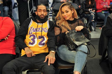 lauren london reveals  tattoo  nipsey hussle vibe