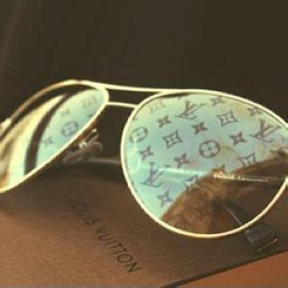 louis vuitton aviator sunglasses  monogram lens