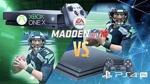 Madden 18 Xbox One X vs PS4 Pro Graphics Comparison ...