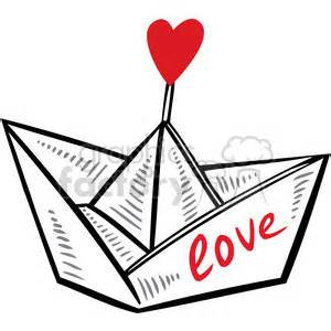Love Boat Clipart by Paper Boat Clip Art 66