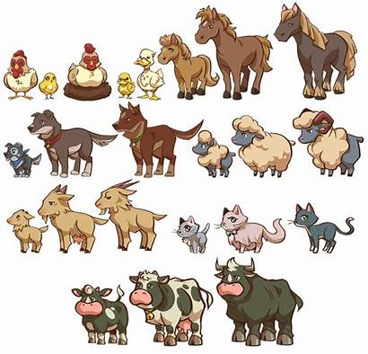 Deviantart Farm Animals Animal Clipart Games Transparent