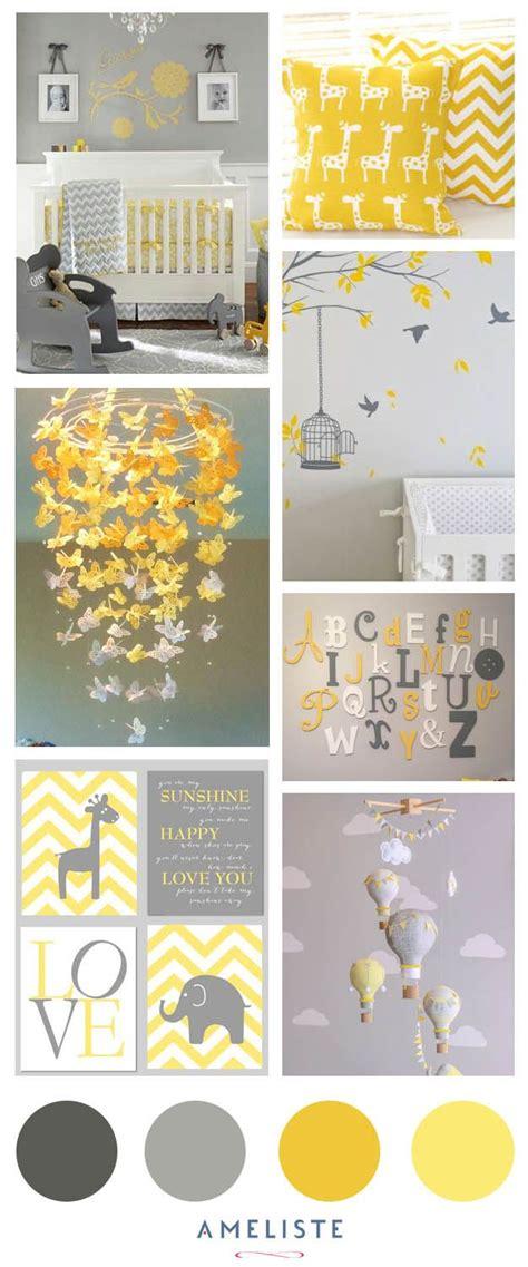 liste chambre bébé chambre de bébé jaune et gris inspirations d 39 ameliste