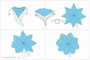 How To Make A Pretty Origami Blossom Flower