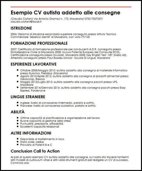 Curriculum Vitae Builder by Curriculum Vitae Autista Esempio Compilato