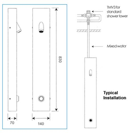 What Is The Standard Height Of A Bathroom Tower Showers