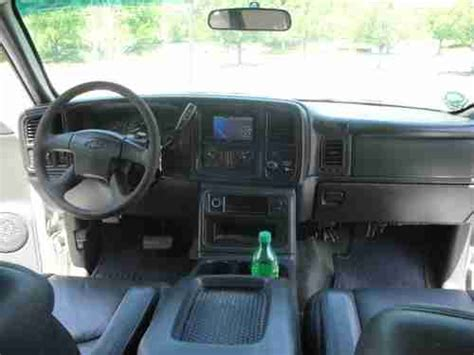 2003 Chevy Silverado Interior by Sell Used 2003 Chevy 2500 Hd Ext Cab 6 6l Duramax Diesel