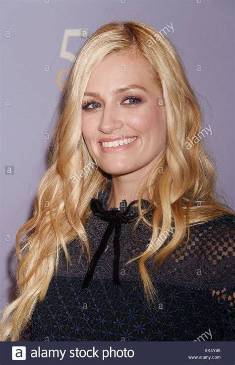 Beth Behrs Stock Photos Images Alamy