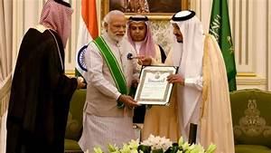 PM Modi awarded Afghanistan's highest civilian honour